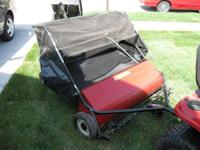Craftsman lawn rake for sale, new in summer 2011, also