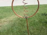Decorative Rotating Copper Lawn Sprinkler For Kids to