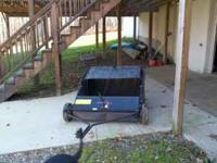 lawn sweeper for sale. Bought new in 2010 only used a
