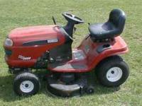 "Model DLT3000... manual included B&S 18.5 HP motor, 42"""