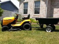 """19.5 HP Poulan Pro Lawn Tractor PB195H42LT 42"""" Deck 6"""