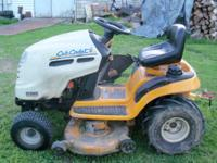 "Selling my Cub Cadet Lawn Tractor 19 Hp 42"" mower deck"