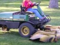 Diesel engine on this John Deere F935 Riding Lawn