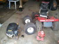 Misc. Lawn Tractor / Mantis Tiller parts for sale Make
