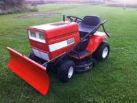"Selling my Lawn Tractor with 38"" Deck and 46"" Snow"