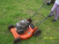 Honda lawnmower runs great in good condition don't use