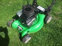 I have a couple of lawn mowers for sale. All were