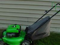 This is a 4 cycle Lawn Boy 6.5 hp 20 inch cut rear