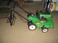 Lawnboy Mulcher/Lawn Mower. Silver Series,