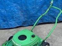For sale: Lawn boy 2-stroke push mower. Runs great,