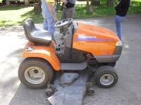 """22 HP 54"""" Garden Tractor Husqvarna $1,100.00 Kemp @"""
