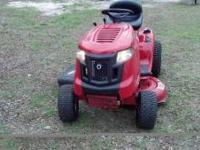 Troybilt lawnmower. Bought April 2011. Very very low