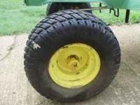 lawnmower tires 13x6.50x6NHS. these tires are off a