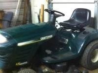 Very good mower readly to work new blades and belts 1-