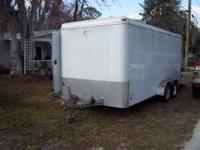Lawn Trailer -All Pro Pace 2005 7x16, double floor,