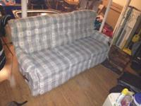 Lazy-Boy Reclining Sofa, Sofa backs are removable for