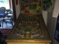 We have a 1953 pinball machine called Lazy Q we are