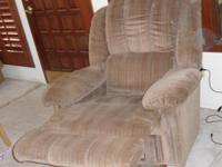 LazyBoy Recliner with built in massager and telephone