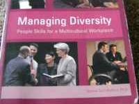 I have the Managing Diversity textbook, Seventh Updated