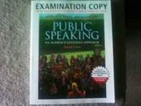 Soft Cover book for Speech class ENG 111 at LCCC PUBLIC