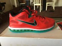 "Brand new LE BRON 9 LOW ""LIVERPOOL"" Size 8 never worn ,"