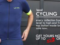 Every Le Col Cycling Apparel collection from