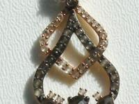 Le Vian Show Piece Smoky Quartz and White Topaz