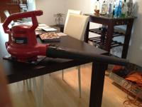 Toro leaf blower power sweep its in good conditions and
