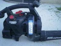 I got a Craftsman Leaf Blower for sale. I am asking