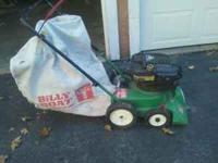 billy goat vac, runs great.no hose make an offer  mike