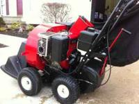 ECHO CSV-8S leaf vacuum Factory new 8hp Briggs and
