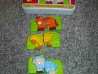 Leap frog farm magnet set. Exact cash only. Prefer text