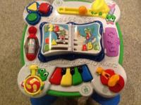 Leap Frog musical activity table in excellent