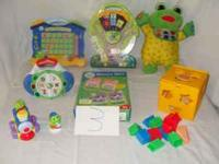 ALL FOR ONLY $30.00 LEAP FROG SEE AND LEARN . LEAP'S