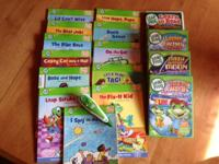 13 leap frog tag books and tag pen. ~ leap frog learn