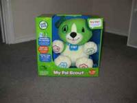 Leap Frog Toy My Pal Scout Brand New Never Used. Call