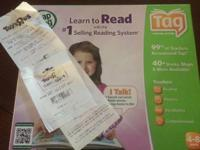 Lear to Read TAG Learning System. It is wonderful! I