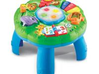The LeapFrog Animal Adventure Learning Table has more