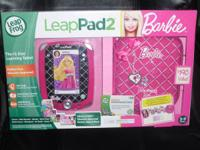 Brand New  Leap Frog  Leap Pad 2  Barbie Bundle Pink