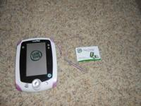 LeapFrog LeapPad  Green Hard Case, like new - $5 Leap