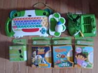 LeapFrog LeapPad 7 Book & Cartridge + System + Storage