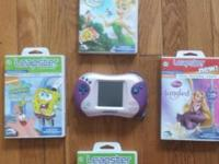 Leapster 2 Plus 4 games. The games will work in