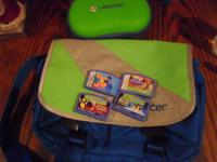 Leapster holding case with travel bag.  Also included 4