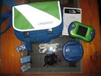1 leapster 2 (new $49.99) 1 leapster case the large one