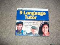 It is a 9 Language Tutor CD-ROM. It includes spanish,