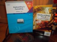 Selling my Keyboarding book & software. The software