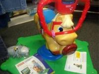 Learn & Laugh Pony With Interactive TV attachment On