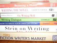 LEARN TO BECOME A WRITER!!! THESE HARDBACKS AND