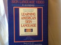 """LEARNING AMERICAN SIGN LANGUAGE""  Beginning and"