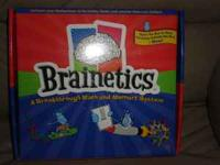 learning game Brainetics, mint condition, please call